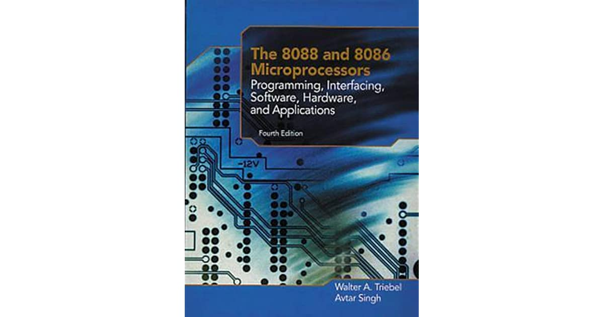 The 8088 and 8086 microprocessors walter a triebel pdf download triebelavtar singh fandeluxe Choice Image