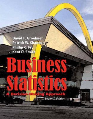 Business Statistics: A Decision-Making Approach [with Student CD]