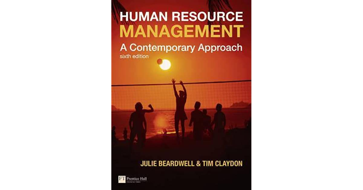 Human resource management a contemporary approach by julie beardwell fandeluxe Choice Image