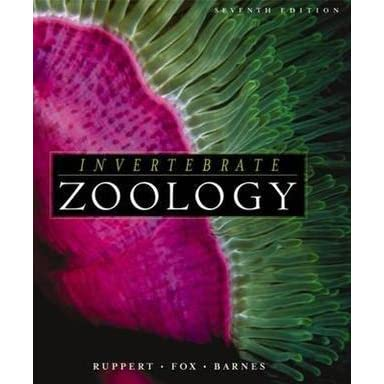Invertebrate Zoology By Ruppert And Barnes Pdf