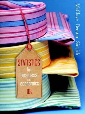 Statistics For Business Economics By James T McClave