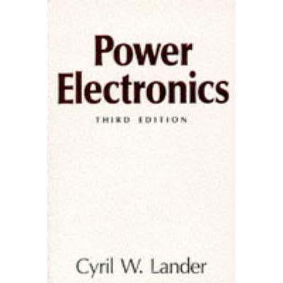 Power Electronics By Lander Pdf