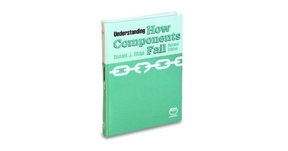 Understanding How Components Fail, 2nd Ed by Donald J. Wulpi