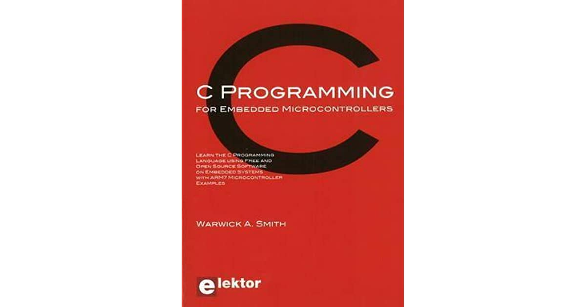 Book Pic Microcontrollers Programming In C