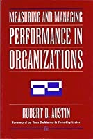 Measuring & Managing Performance in Organizations