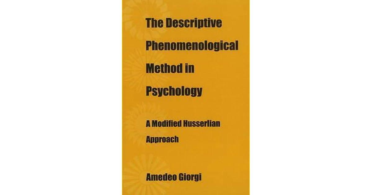Phenomenology (psychology)