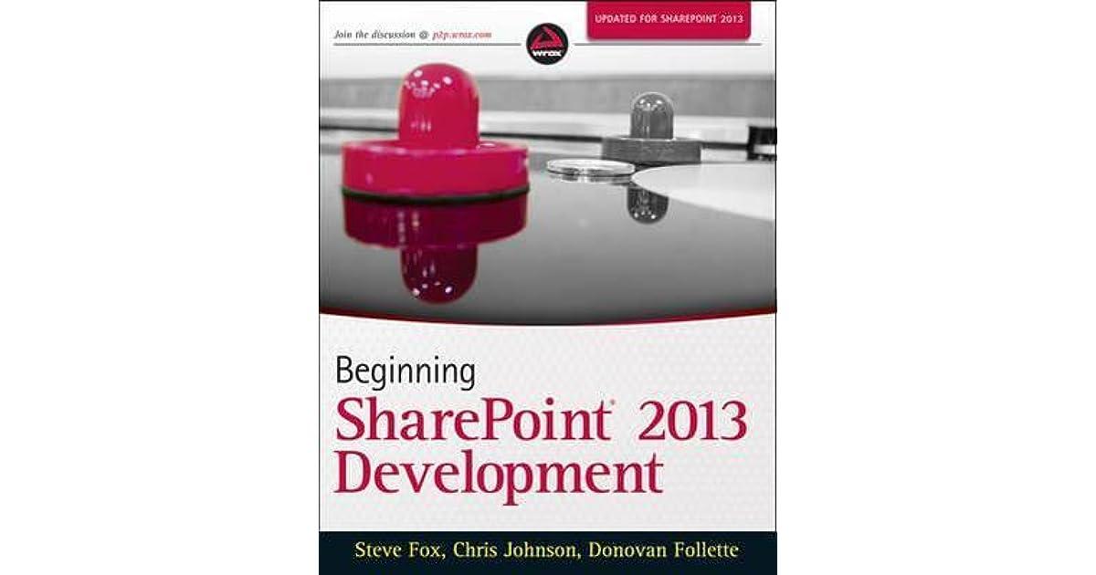 Beginning Sharepoint 2013 Development Ebook