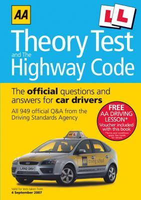AA Theory Test and the Highway Code: The Official Questions and