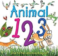Animal 123: One to Ten and Back Again. Illustrated by Kate Sheppard
