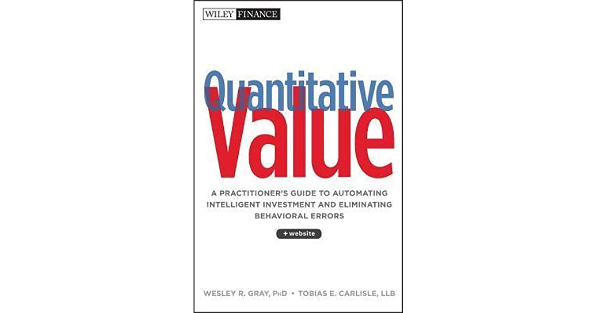 Quantitative Value: A Practitioner's Guide to Automating
