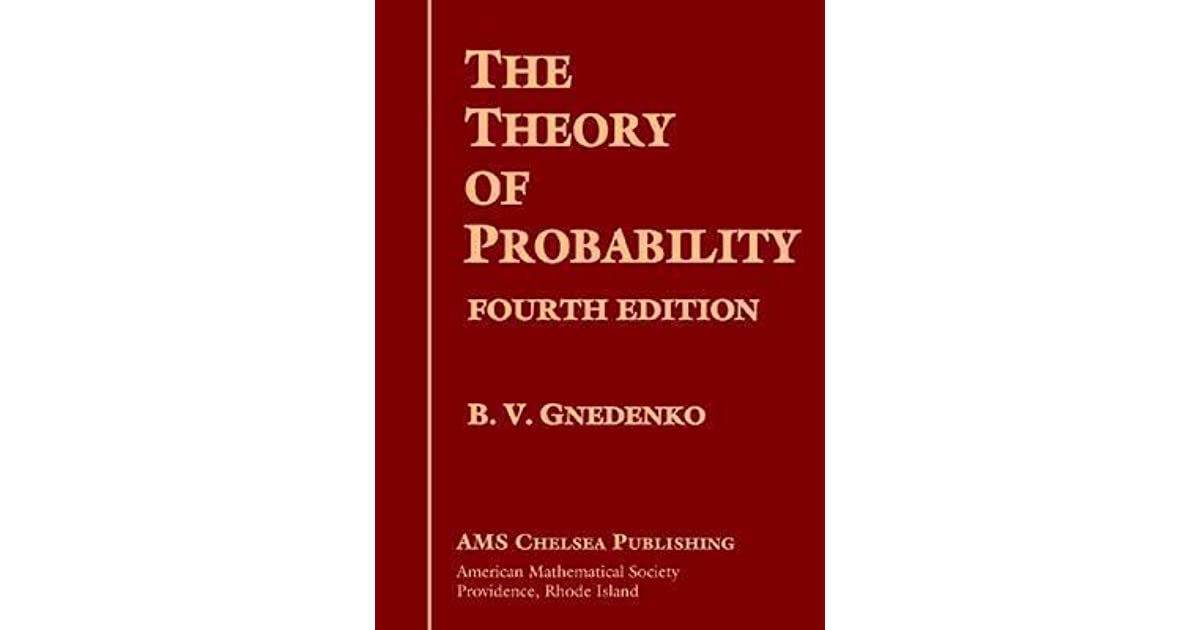 the theory of probabilities Video created by duke university for the course data science math skills this module introduces the vocabulary and notation of probability theory – mathematics for the study of outcomes that are uncertain but have predictable rates of.