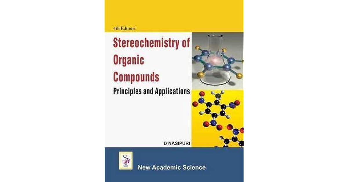 Stereochemistry Of Organic Compounds Nasipuri Pdf