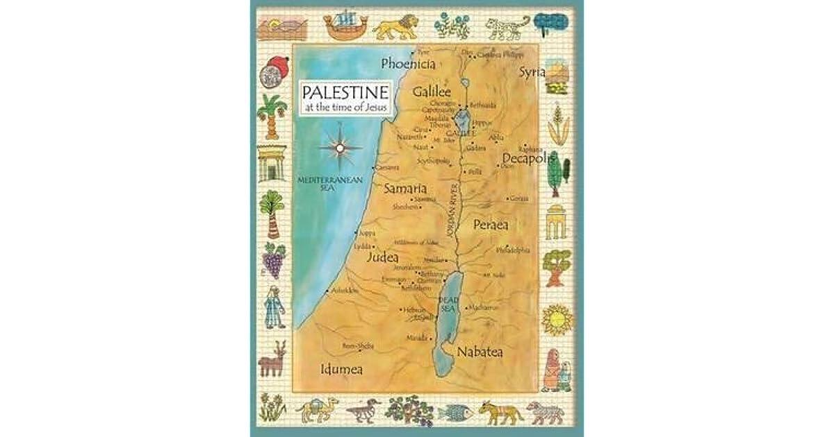Palestine in the Time of Jesus Map by Anna Payne-Krzyzanowski on map paul's time, map jerusalem time of christ, map of israel at time of christ, map of asia in the time of christ, israel during jesus' time,
