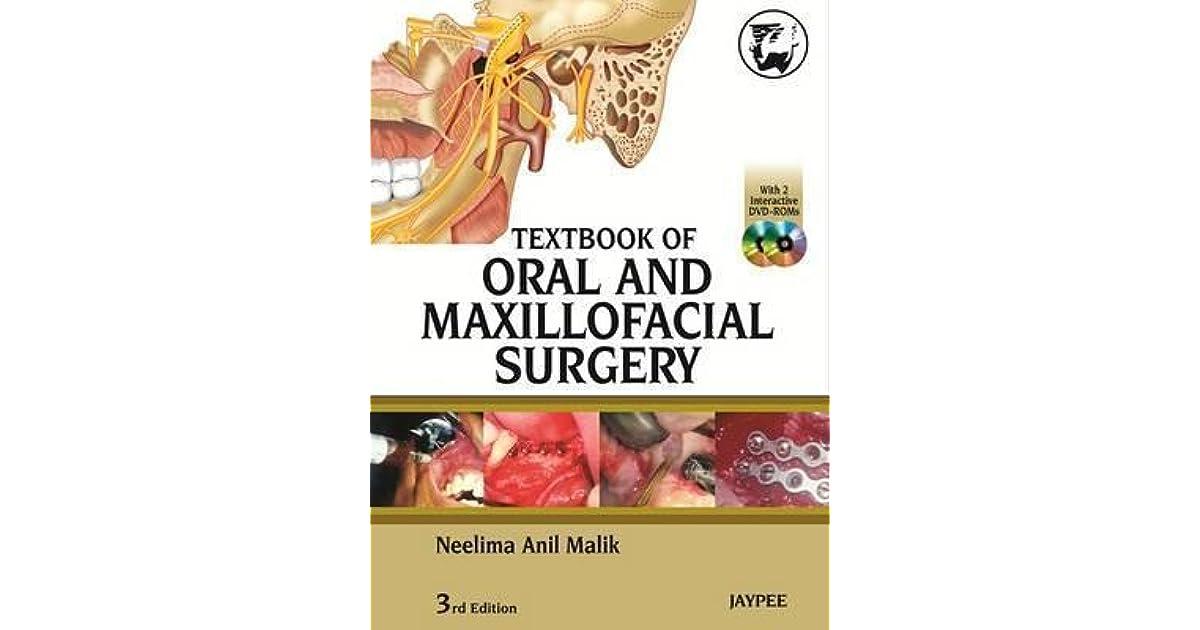 Textbook of oral and maxillofacial surgery neelima anil malik