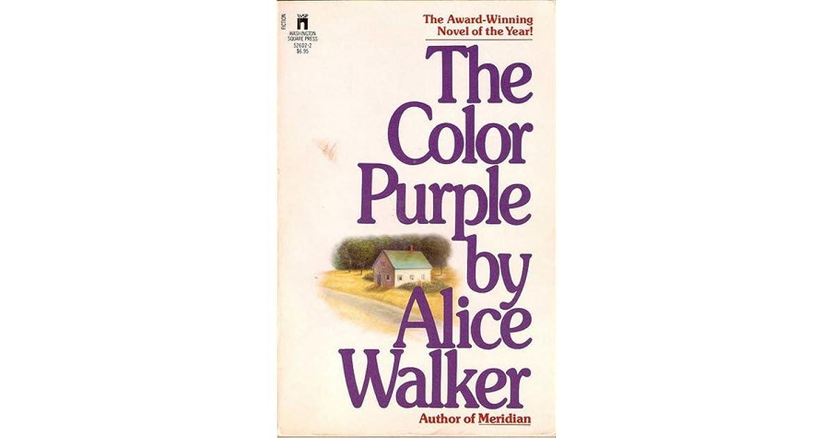 the color purple book report