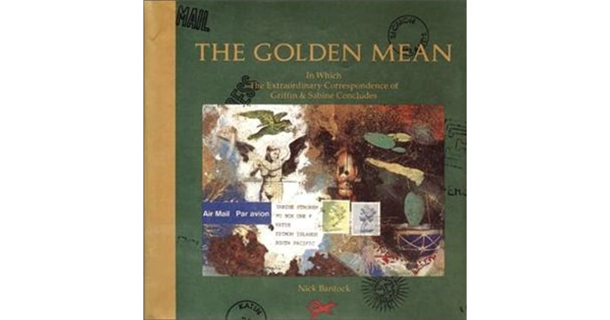 Ebook The Golden Mean Griffin Sabine 3 By Nick Bantock
