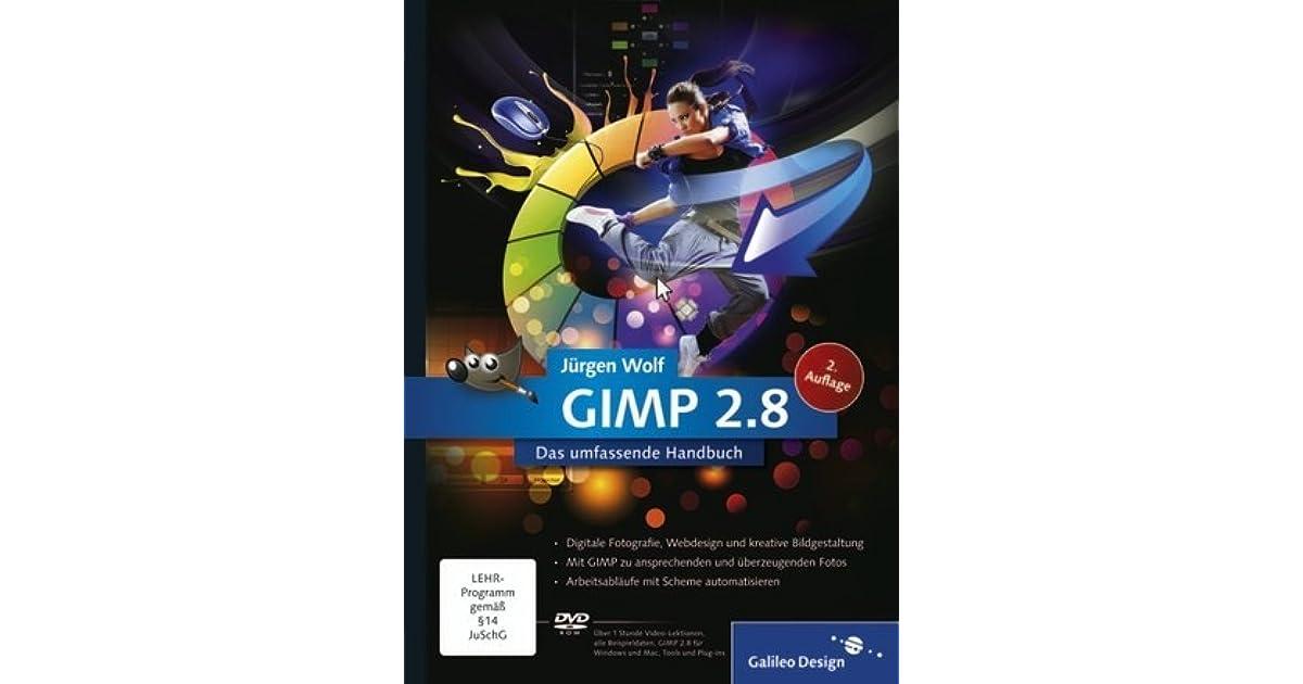 gimp 2.8 handbuch