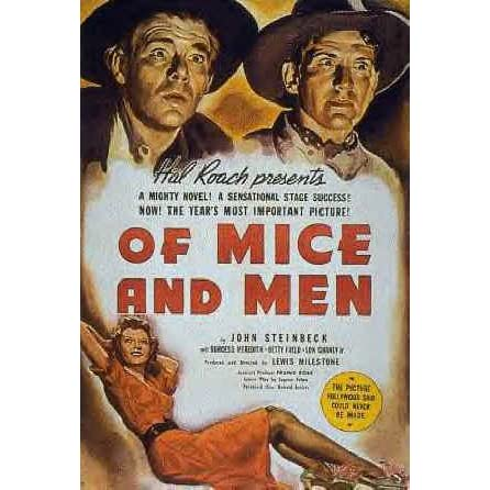 a literary analysis of john steinbecks of mice and men