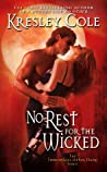 No Rest for the Wicked (Immortals After Dark, #2) audiobook download free