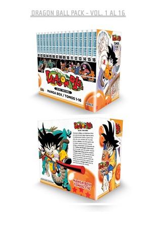 Dragon Ball Manga Box Set 1 By Akira Toriyama