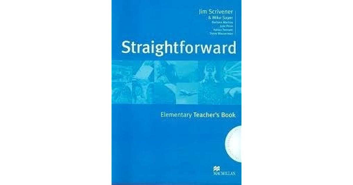 straightforward elementary teachers book free download