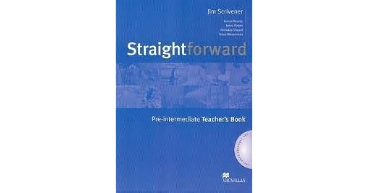 Straightforward pre intermediate teachers book by jim scrivener fandeluxe Choice Image