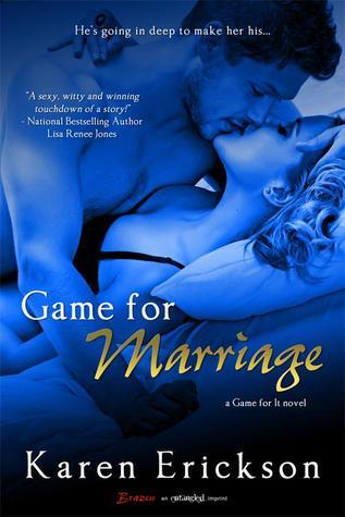 Game for Marriage (Game for It Book 1)