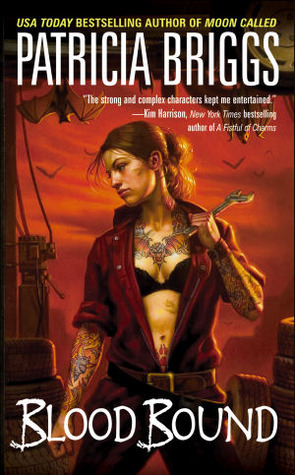 Book cover Patricia Briggs - Mercy Thompson 2 - Blood Bound