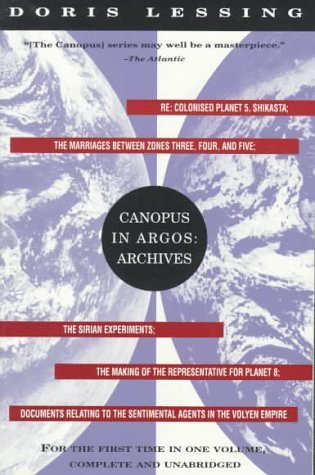 Canopus in Argos: Archives by Doris Lessing