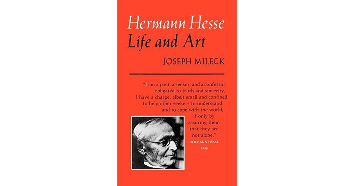 the early life and career of herman hesse
