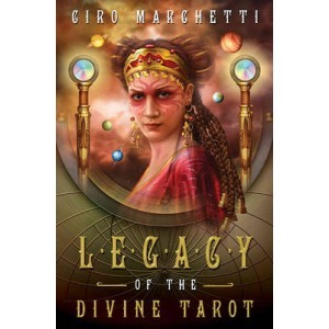 Legacy of the Divine Tarot [With Paperback Book and Black Organdy Tarot Bag]