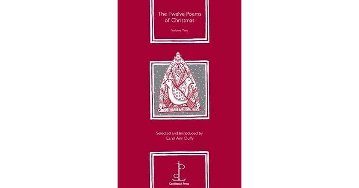 The Twelve Poems Of Christmas Volume Two By Carol Ann Duffy