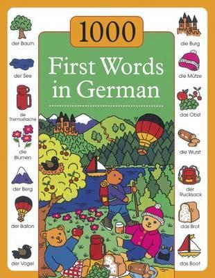 1000 First Words in German