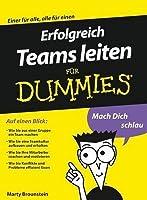 Erfolgreich Teams Leiten F�r Dummies