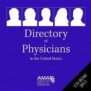 Directory of Physicians in the Us 2011 CD-ROM Single User