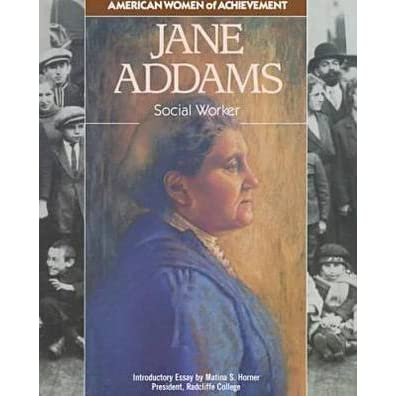 jane addams social work Addams, jane democracy and social ethics 1902 her last book-length work, addams provides a biography of long time hull the social thought of jane addams.