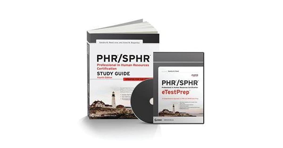 Phr Sphr Professional In Human Resources Total Test Prep By Sandra