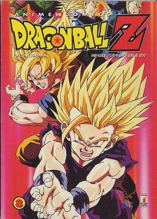 Dragon Ball Z Anime Comics, Vol. 8