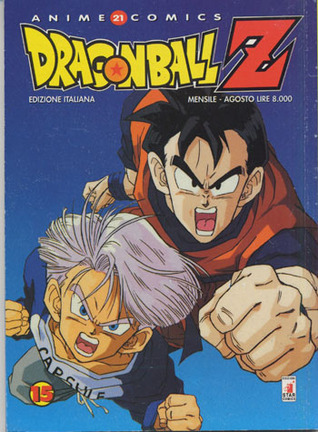 Dragon Ball Z Anime Comics, Vol. 15