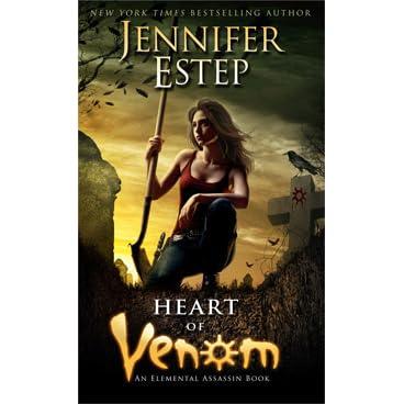 Ebook Heart Of Venom Elemental Assassin 9 By Jennifer Estep