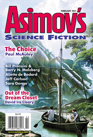 Asimov's Science Fiction, February 2011