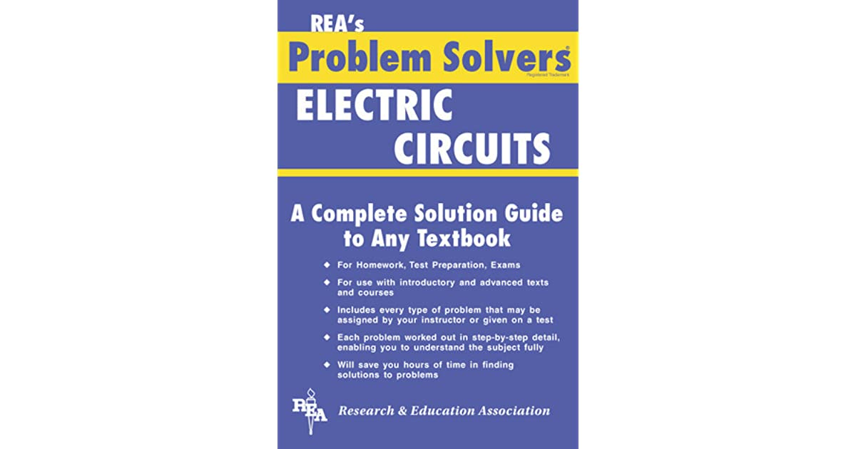 Electric Circuits Problem Solver by Research & Education Association