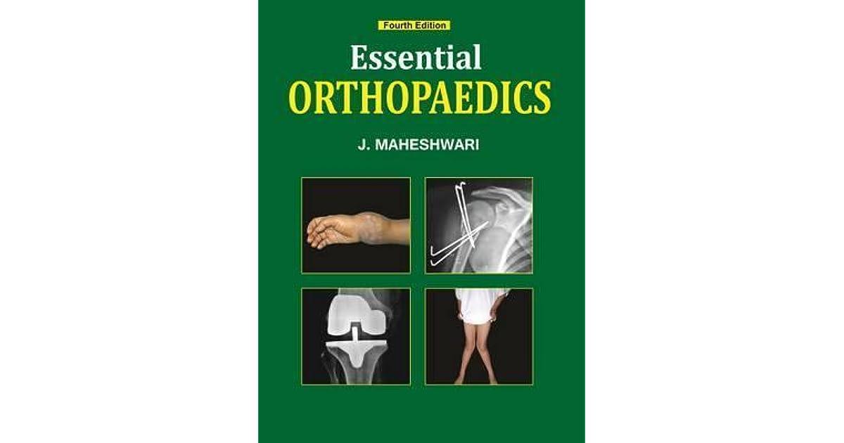 Orthopedics pdf essential maheshwari