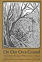On Our Own Ground: The Complete Writings Of William Apess, A Pequot