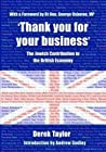 'Thank you for your business': The Jewish Contribution to the British Economy
