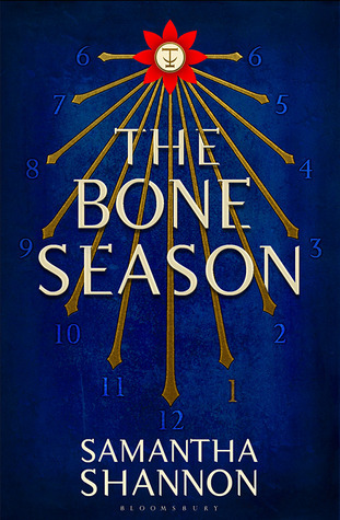 "Book cover of ""The Bone Season"" Samantha Shannon"