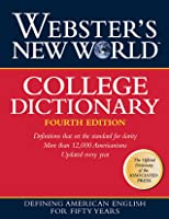Webster's New World College Dictionary, 4th Edition (Cloth Plain Edged)