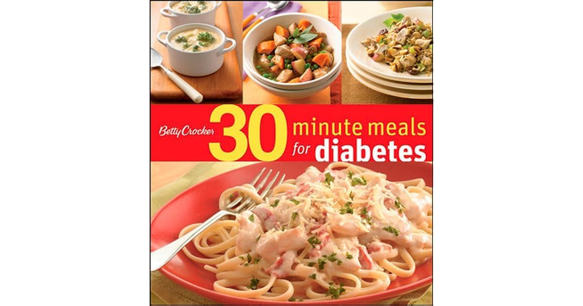 Betty Crocker 30 Minute Meals For Diabetes By Betty Crocker
