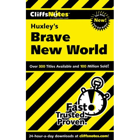 literary devices used in brave new world by aldous huxley