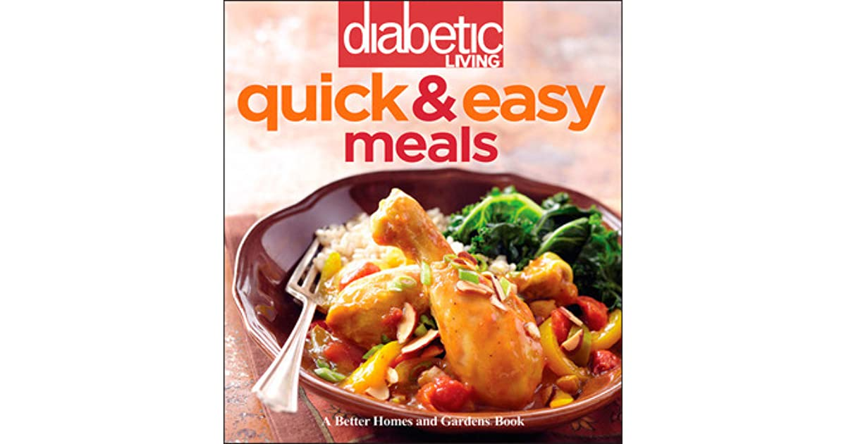 Diabetic living quick easy meals by diabetic living magazine forumfinder Image collections